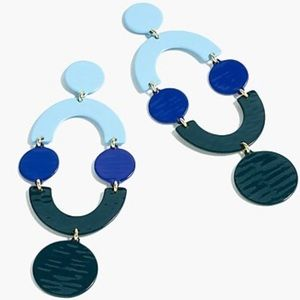 J.Crew Geometric Earrings